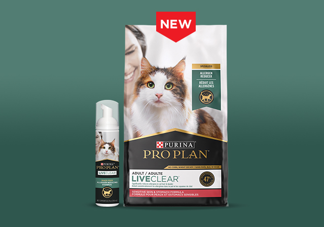 Reduce Cat Allergens with LiveClear™