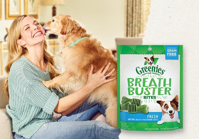 Greenies Canine Breath Buster Bites